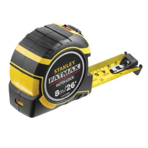 Stanley 033504 Fatmax Autolock Pocket Tape Measure 8m/26ft (Width 32mm)